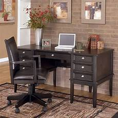 home office furniture set carlyle home office set w storage leg desk signature
