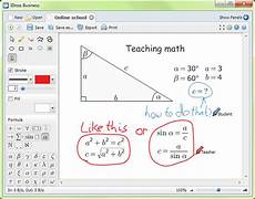 free whiteboard software for teaching collaboration for online presentations and meeting using skype