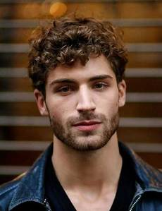 what are the most beautiful haircuts for men with curly
