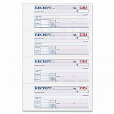 money rent receipt book 3 part 100 bk ld products