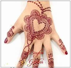 Contoh Gambar Henna Di Telapak Tangan Contoh Henna