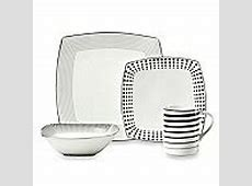 Mikasa® Cheers Square 4 Piece Place Setting   Bed Bath