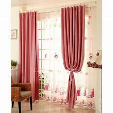 Cheap Curtains For Sale by Cheap Curtains For Blackout And Thermal In Pink Color