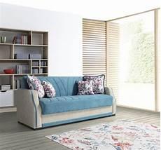 Couchgarnitur 3 2 1 Mit Schlaffunktion - sofa mit schlaffunktion garnitur blau cizgi 3 2 1