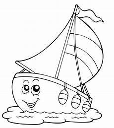 Malvorlagen Kinder Schiff Kostenlose Malvorlage Transportmittel Schiff Mit Lustigem