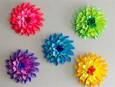 Blume Basteln Kinder - papierblumen basteln mit kindern sch 246 ne ideen und