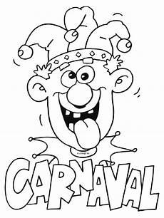 karneval malvorlagen fasching kleurplaten carnaval