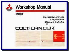 mitsubishi lancer mirage colt ce series 1996 2001 workshop toolbox manual ebay