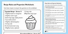 ratio recipes worksheet recipes ratio and proportion worksheet teacher made