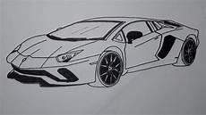 Lamborghini Pictures Drawings how to draw a lamborghini car step by step