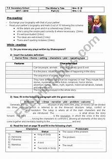 the winter s tale worksheets 20112 the winter 180 s tale esl worksheet by pretty