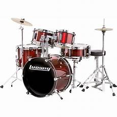 Ludwig 5 Junior Drum Set With Cymbals Music123