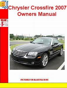 chrysler crossfire 2007 owners manual download manuals tech