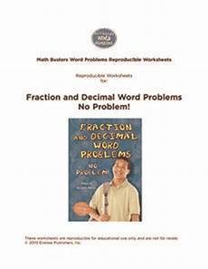 word problems with fractions and decimals worksheets 7589 back to math collection lesson planet