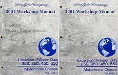 manual repair free 2001 ford f250 parental controls 2001 ford f250 f350 f450 f550 super duty truck excursion factory shop service manual set new