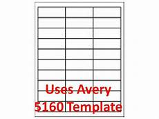 3000 laser ink jet labels 1 quot 2 5 8 quot 30up address compatible with 5160 5960 ebay