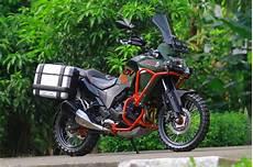 Kawasaki Versys 250 Modifikasi ubahan kawasaki versys 250 kejar dual sport ideal di dua alam