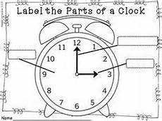 label the clock teaching resources second grade math