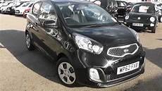 Kia Picanto Schwarz - used car kia picanto 1 air galaxy black wp62fxb
