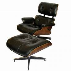 eames original rosewood 670 and 671 lounge chair and