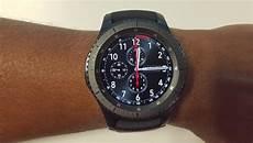 samsung gear s3 la nouvelle reine des montres connect 233 es