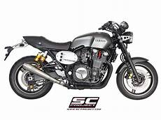 sc project exhaust yamaha xjr 1300 racer conic silencer