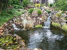 landscape water features ponds canton ohio