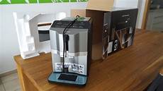siemens eq 3 kaffeevollautomat im test unboxing