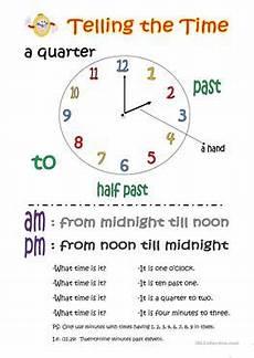 406 free esl time worksheets