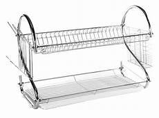 Bakeey Dish Drying Rack Stainless Steel 2 tier stainless steel quot s quot dish rack dish drainer rack