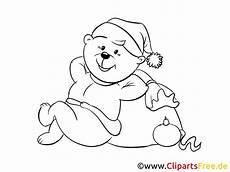 Ausmalbilder Weihnachten Teddy Silvester Teddy Zum Ausmalen