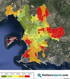 La Carte Des Prix De L Immobilier 224 Marseille Et Dans Dix