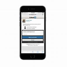 linked in mobile how to create a mobile linkedin business card