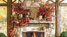 Fall Home Decor Ideas by Fall S Best Outdoor Rooms Southern Living