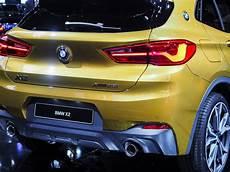 bmw x2 kofferraum 2018 detroit auto show the new bmw x2