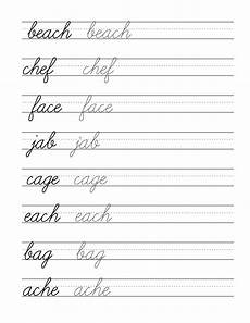 cursive writing sentences worksheets free 22145 free beginning cursive writing template part 3 handwriting worksheets for cursive
