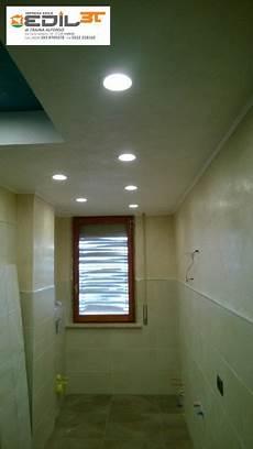 faretti led bagno rifacimento bagno con doccia in muratura e abbassamento in