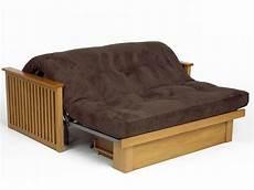 bed futon pangkor 2 seat futon sofa bed in oak