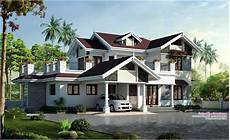 15 beautiful kerala style homes plans free kerala beautiful kerala house elevation at 2750 sq ft