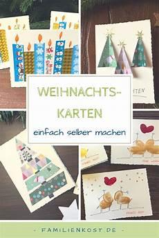 Weihnachtskarten Selbst Basteln - weihnachtskarten basteln diy cards