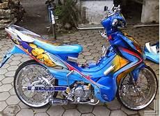 Modif Supra 125 Minimalis by Modifikasi Terbaru Honda Supra X 125 Simpel Sederhana