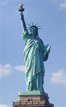 the statue of liberty an american symbol symbol of freedom dedicated in 1886 quot liberty enlightening