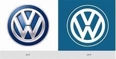 vw logo neu das neue volkswagen logo