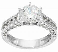 qvc wedding rings diamonique textured 2 75 cttw bridal ring sterling page 1 qvc com