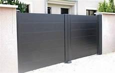 portail aluminium battant 3m50 portail 2 battants alu portail en aluminium