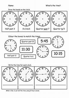 time worksheet quarter and half 3157 time o clock half past quarter to and past teaching resources