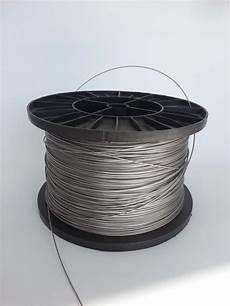 cable acier gain 233 tr 232 s r 233 sistant 1 mm pour store pas cher