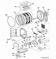 ge electric dryer parts diagram ge electric dryer parts model dpgt750ec2ww sears partsdirect