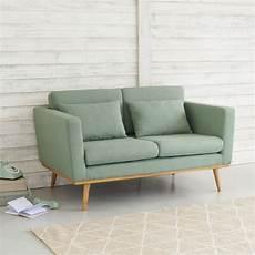 2 sitzer vintage sofa grau gr 252 n timeo maisons du monde