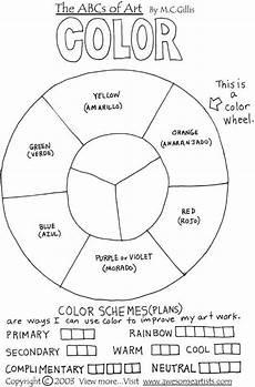 colour worksheets ks2 19238 color wheel by lind butz worksheets homeschool lessons